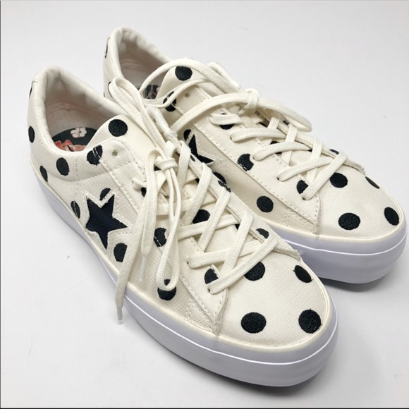 b58749a7c380da Converse Shoes - NEW Converse One Star Polka Dot Platform 9